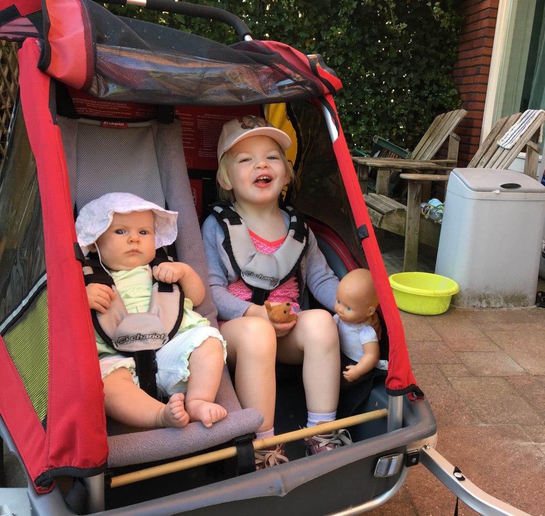 baby fietskar mobiliteit moeder bewegingsvrijheid